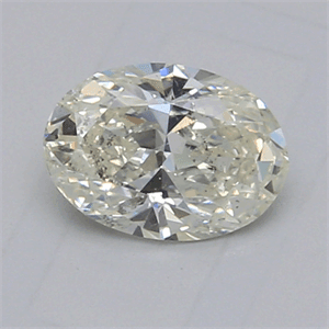 Picture of 1.02 Carats, Oval Diamond with  Cut, H Color, SI1 Clarity and Certified by EGL