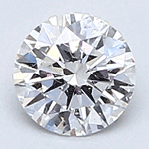 Picture of 0.26 carat, Round diamond F color VS2 clarity Enhanced
