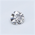 0.25 carat, Round diamond D color SI2 clarity Certified by EGL/EGS, Stock 1505135