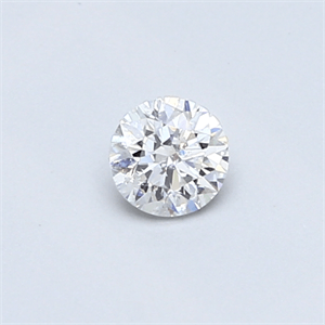 Picture of 0.25 carat, Round diamond F color SI1 clarity Enhanced