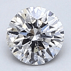 Picture of 0.21 carat, Round diamond E color SI2 clarity Enhanced