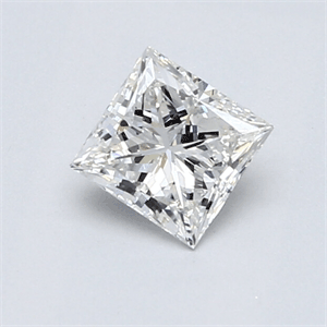 Picture of 0.61 carat Princess  Natural diamond F VS1