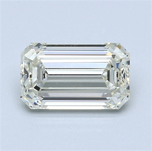 Picture of 1.50 Carats, Emerald Diamond with  Cut, G Color, VS1 Clarity and Certified by EGL