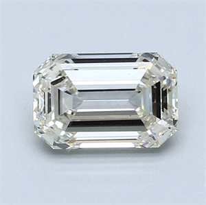 Picture of 1.51 Carats, Emerald Diamond with  Cut, G Color, VS1 Clarity and Certified by EGL