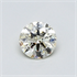 0.50 Carats Round natural Diamond with Ideal Cut, J SI1, Certified by CGL, Stock 1664787