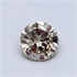 0.53 Carats natural Round Diamond with Very Good Cut, K VS1, Certified by CGL, Stock 1664788
