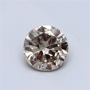 Picture of 0.53 Carats natural Round Diamond with Very Good Cut, K VS1, Certified by CGL