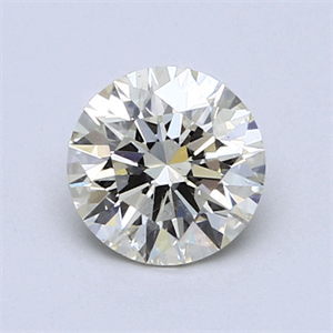 Picture of 0.73 Carats, Round Diamond with Excellent Cut, M Color, SI2 Clarity and Certified by GIA