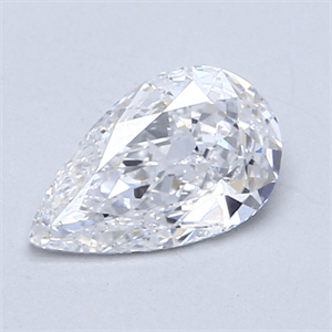 Picture of 0.83 Carats, Pear Diamond with  Cut, D Color, SI2 Clarity and Certified by GIA