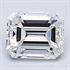 0.29 quilates, diamante esmeralda con muy buen corte, color E, claridad VS1 y certificado por CGL, Stock 370129