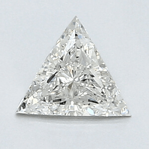 Picture of 0.33 Carats, Triangle Diamond with Very Good Cut, H Color, VS2 Clarity and Certified By CGL