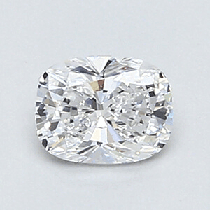Picture of 0.37 Carats, Cushion Diamond with Very Good Cut, D Color, VVS2 Clarity and Certified By EGL