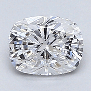 Foto 0.30 Cushion Diamond, Clarity VS1, Color D, Ideal-Cut, certificado por EGL de