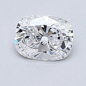 Picture of 0.36 Carats, Cushion Diamond with Very Good Cut, D Color, VVS2 Clarity and Certified By EGL