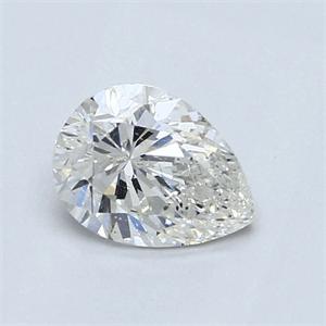 Foto 0.99 quilates, pera diamante con muy buen corte, color G, claridad VS1 y certificado por IGL de
