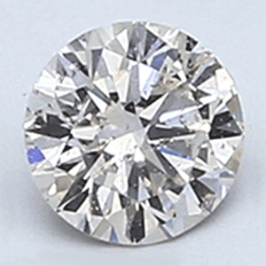 Picture of 0.24 Carats, Round Diamond with Very Good Cut, I Color, SI1 Clarity and Certified By EGL