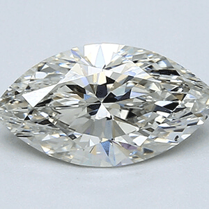 Picture of 1.51 Carats, Marquise Diamond with Very Good Cut Ideal Shape, H Color, VS1 Clarity and Certified By EGL