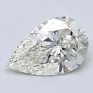 Foto 0.26 quilates, diamante pera con muy buen corte, color I, claridad VVS2 y certificado por CGL de