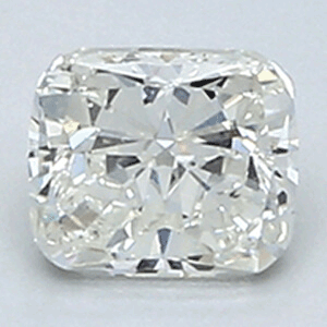 Picture of 0.4 Carats, Cushion Diamond with Very Good Cut, H Color, VS2 Clarity and Certified By EGL