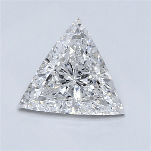 Picture of 0.82 Carats, Triangle Diamond with Ideal Cut, D Color, VVS2 Clarity and Certified By CGL