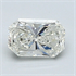 0.47 Carats, Radiant Diamond with Very Good Cut, G Color, VVS2 Clarity and Certified By EGL, Stock 370421
