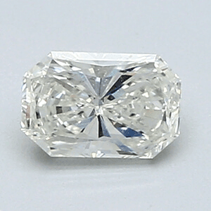 Picture of 0.47 Carats, Radiant Diamond with Very Good Cut, G Color, VVS2 Clarity and Certified By EGL