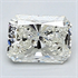 0.48 Carats, Radiant Diamond with Very Good Cut, G Color, VS1 Clarity and Certified By EGL, Stock 370429