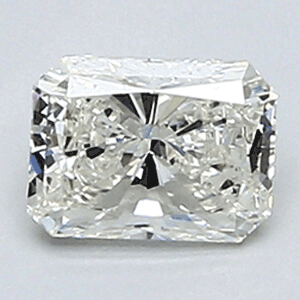 Picture of 0.48 Carats, Radiant Diamond with Very Good Cut, G Color, VS1 Clarity and Certified By EGL