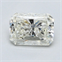 0.52 Carats, Radiant Diamond with Very Good Cut, H Color, VS1 Clarity and Certified By EGL, Stock 370430