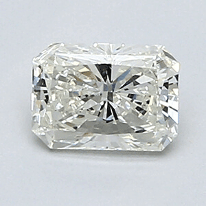 Picture of 0.52 Carats, Radiant Diamond with Very Good Cut, H Color, VS1 Clarity and Certified By EGL