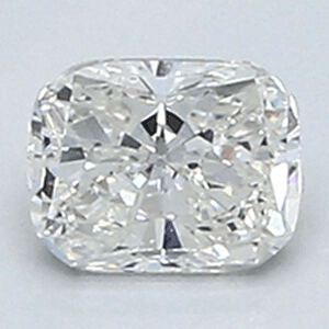Picture of 0.4 Carats, Cushion Diamond with Very Good Cut, F Color, VVS1 Clarity and Certified By EGL