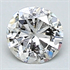 0.19 Carats, Round natural Diamond with Very Good Cut, F Color, SI1 Clarity and Certified By CGL, Stock 370460
