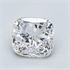 0.5 Carats, Cushion Diamond with Very Good Cut, D Color, SI1 Clarity and Certified By EGL, Stock 370508