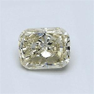 Foto 0.77 quilates, Diamante de cojín con muy buen corte, L, claridad VS1 y certificado por IGL de
