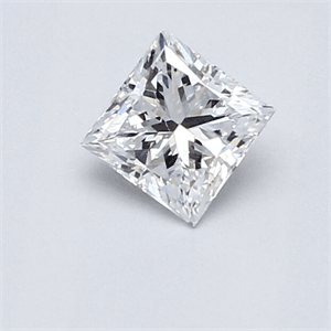Picture of 0.59 Carats, Princess Diamond , Very Good Cut, D VS2 Certified By CGL