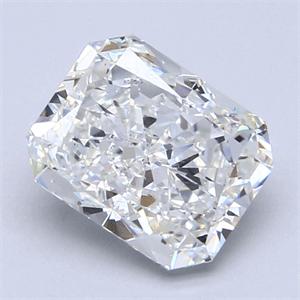 Foto 2.51 quilates, Radiante Diamante , Color G, claridad SI1 y certificado por GIA de