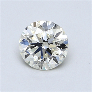 Picture of 0.70 Carats, Round Diamond with Excellent Cut, M Color, SI2 Clarity and Certified by GIA