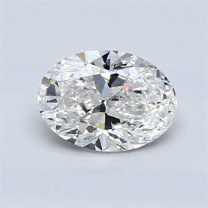 Picture of 0.71 Carats, Oval Diamond with  Cut, F Color, SI1 Clarity and Certified by GIA