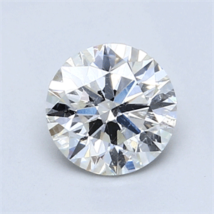 Picture of 1.01 Carats, Round Diamond with Excellent Cut, I Color, SI2 Clarity and Certified by GIA
