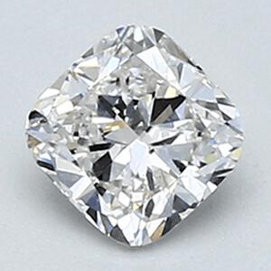 Foto 0.46 quilates, Diamante de cojín con muy buen corte, claridad E VS1 y certificado por EGL de
