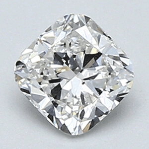 Picture of 0.46 Carats, Cushion Diamond with Very Good Cut, E VS1 Clarity and Certified By EGL