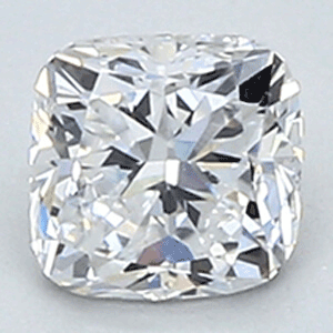 Picture of 0.48 Carats, Cushion Diamond with Very Good Cut, D VS1 Clarity and Certified By EGL