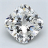 0.41 Carats, Cushion Diamond with Very Good Cut F VS2 and Certified By EGL, Stock 665544