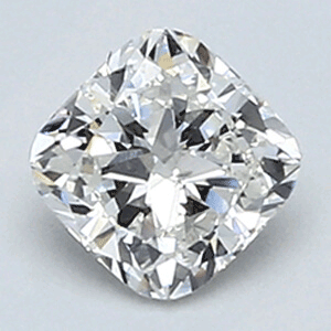 Picture of 0.41 Carats, Cushion Diamond with Very Good Cut F VS2 and Certified By EGL