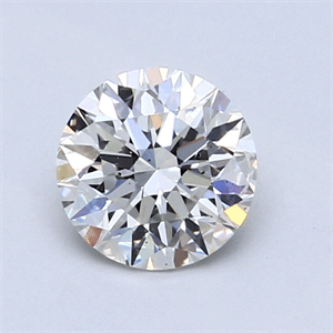 Picture of 1.01 Carats, Round Diamond with Very Good Cut, H Color, SI2 Clarity and Certified by GIA