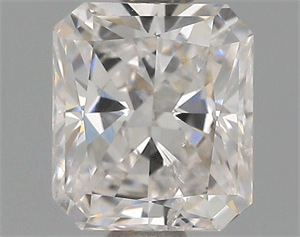 Picture of 0.76 Carats, Radiant Diamond with  Cut, F Color, SI2 Clarity and Certified by GIA