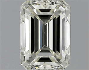 Picture of 1.50 Carats, Emerald Diamond with  Cut, H Color, VS1 Clarity and Certified by EGL