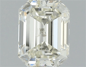 Picture of 1.01 Carats, Emerald Diamond with  Cut, K Color, I1 Clarity and Certified by GIA