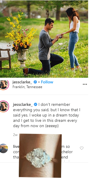 Jessica Clarke & Ben Higgins are engageged