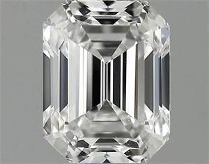 Picture of 1.18 Carats, Emerald Diamond with  Cut, D Color, VS2 Clarity and Certified by GIA